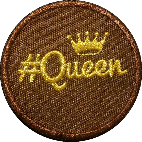 Queen Patch(Brown)