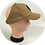 Thumbnail: Khaki LOC/Backless Base Hat