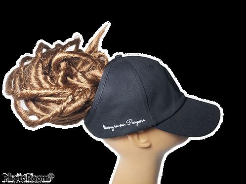 Black LOC/Backless Base Hat