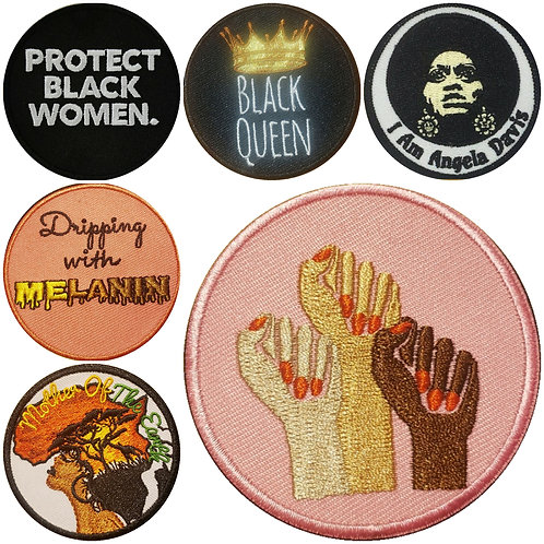 Women's History Month Patch Pack