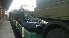 Перевозка негабаритных грузов жд