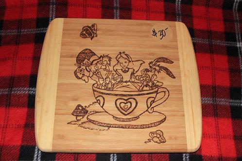 Tea Party Cutting Board