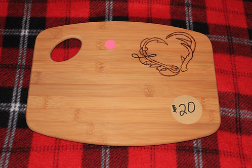 Fishing and Hunting Love Cutting Board