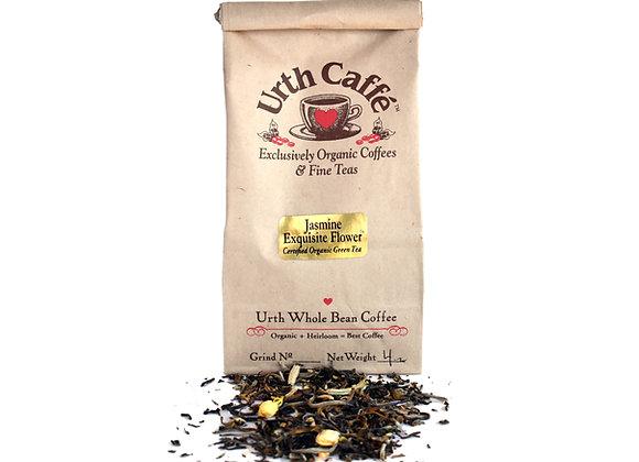 4 oz bag of Urth jasmine exquisite flower tea