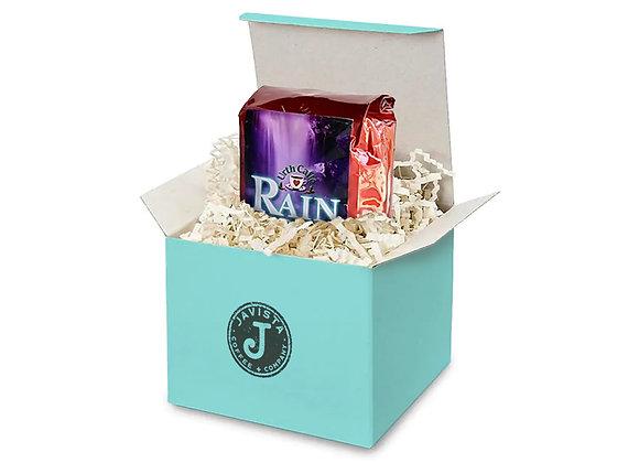 Javista Coffee & Tea Subscriptions - Bag of coffee in gift box