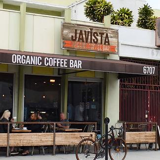 Javista exterior entrance