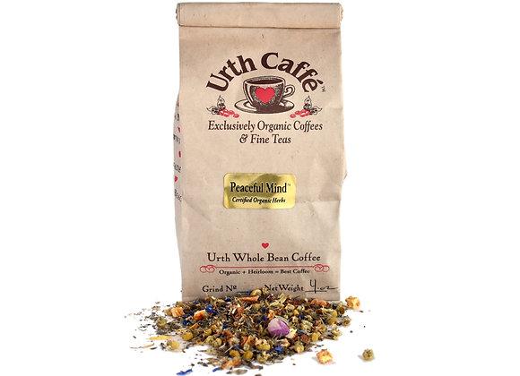 4 oz bag of Urth peaceful mind tea