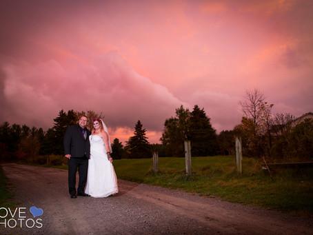Marcia + Randy | Halloween Wedding | Durham Region | Love Photos Durham Region Wedding Photographer