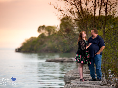 Durham Region Beach Engagement at Lakeview Park | Love Photos | Oshawa Wedding Photographer