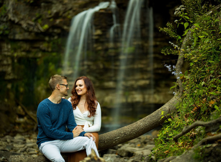 Fall Hilton Falls Engagement Shoot | Heidi & Adam