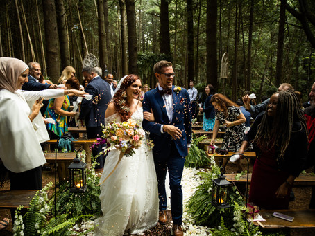 Whispering Springs Wilderness Retreat Wedding | Intimate Outdoor Wedding Ontario