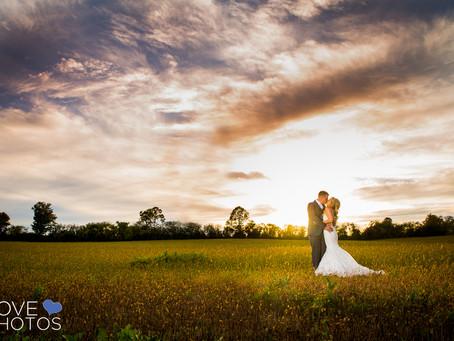 Kristin + John | Nestleton Inn Wedding | Love Photos | Durham Region Wedding Photographer