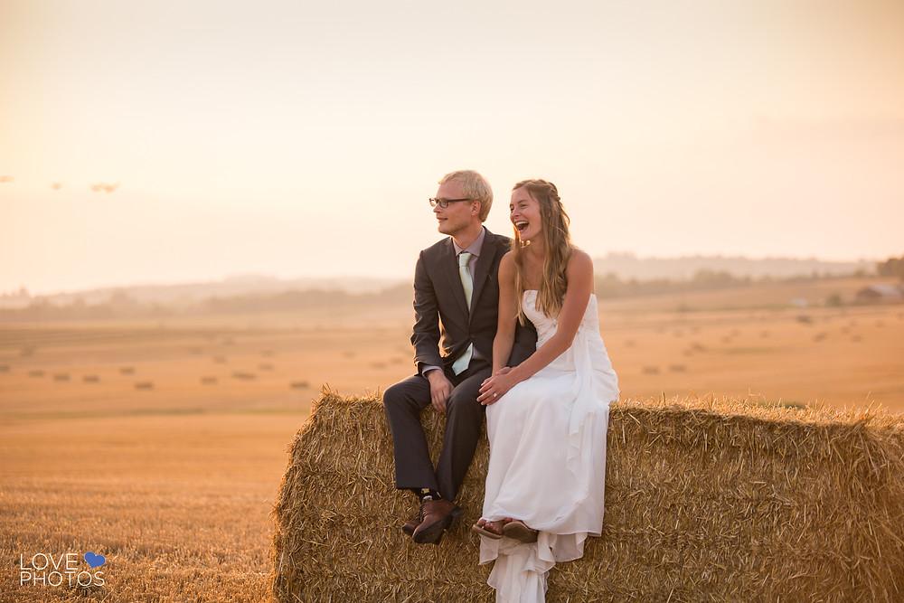 Cobourg Sunset Wedding