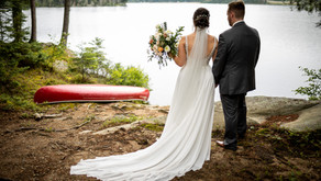 Algonquin Park Wedding| Paige & Greg | Killarney Lodge