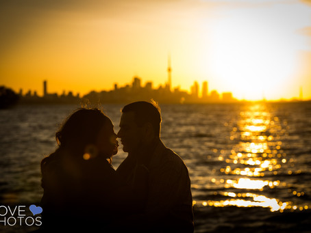 Downtown Toronto Waterfront Sunrise Engagement | Love Photos | Toronto & Oshawa Wedding Photogra