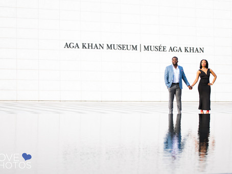 Aga Khan Museum Engagement | Love Photos Toronto Wedding Photographer | Christine + Chito