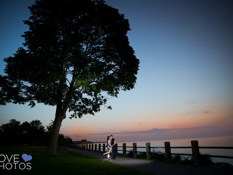 Durham Region Waterfront Engagement | Jaime & Matt | Love Photos Courtice Wedding Photographer