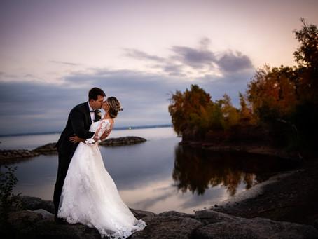 Downtown Burlington Wedding | Emily & Jeremy | Burlington Village Square