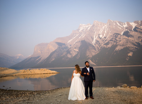 Calgary & Banff Wedding | Tanya & David