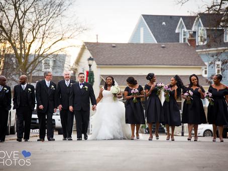 Corinne + Shamell | Kleinburg | Paradise Banquet Hall | Love Photos York Region Wedding Photographer