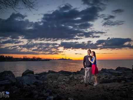 Toronto Sunrise Engagement | Nancy & Chris | Love Photos | Toronto Wedding Photographer