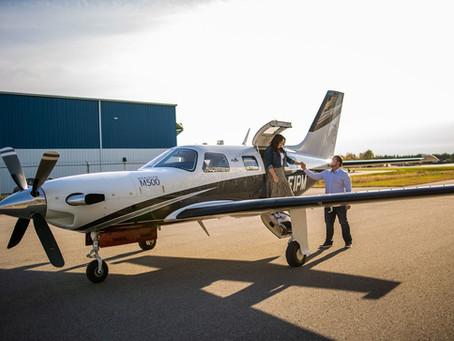 Oshawa Airport Wedding   Kristy & Jason   Engagement Shoot with Airplanes