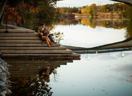 Trent University Engagement Shoot | Emily & Jeremy