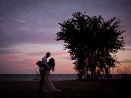 Durham Region Backyard Wedding | Amber & Mark | Micro Wedding Photographer