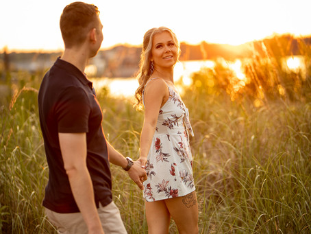 Pickering Waterfront Engagement | Igor & Agata | Durham Region Wedding Photographer