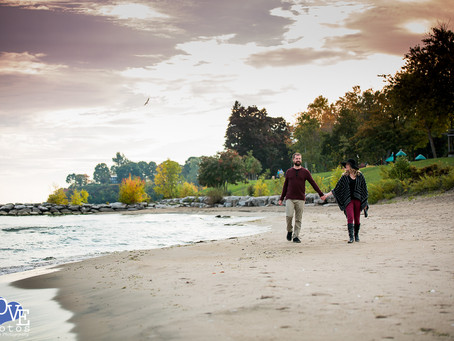 Toronto Lakeshore Engagement | Jessica & Stefan Engagement | Love Photos Oshawa Engagement Photo
