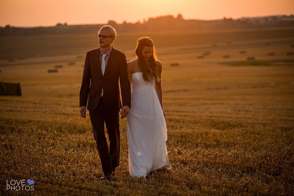 Durham Region Sunset Wedding