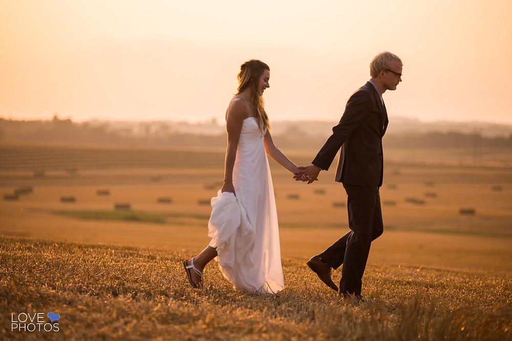 Toronto Farm Sunset Wedding