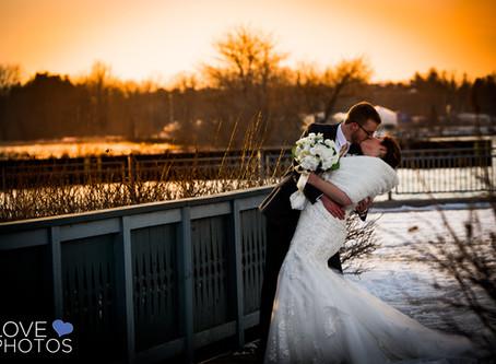 Ajax Convention Centre Winter Wedding   Jaime & Matt   Love Photos Ajax Wedding Photographer