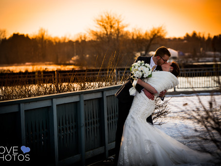 Ajax Convention Centre Winter Wedding | Jaime & Matt | Love Photos Ajax Wedding Photographer