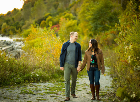 Scarborough Waterfront Engagement | Ela & Cameron | Scarborough Wedding Photographer