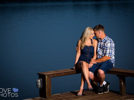 Cottage Country Engagement | Kristin & John | Love Photos Durham Region Wedding Photographer