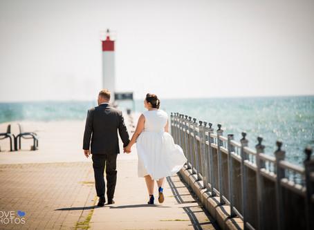 Whitby City Hall/ Brewery Wedding | Alex and Kevin | Love Photos | Durham Region Wedding Photographe
