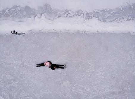 Hockey Winter Engagement Shoot | Hailey & Jamie | Enniskillen Conservation Area