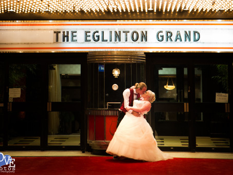 Eglinton Grand Wedding // Love Photos Toronto Wedding Photographer // Samantha & Mike // Review