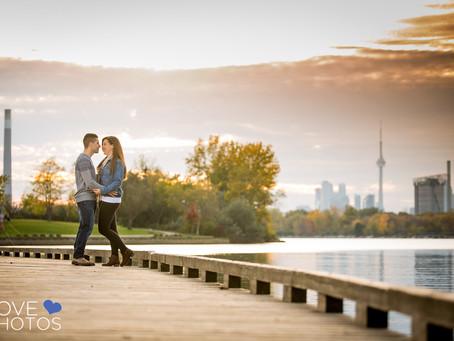 Mikaela & Jake | Leslieville & Ashbridge's Bay Toronto Engagement | Love Photos | Toront