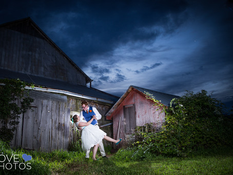 Peterborough Farm Wedding | Rebecca + Connor | Love Photos | Durham Region Wedding Photographer