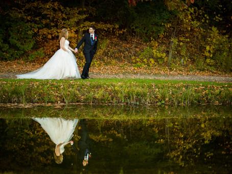 Fall Trillium Trails Wedding | Victoria & Ryan