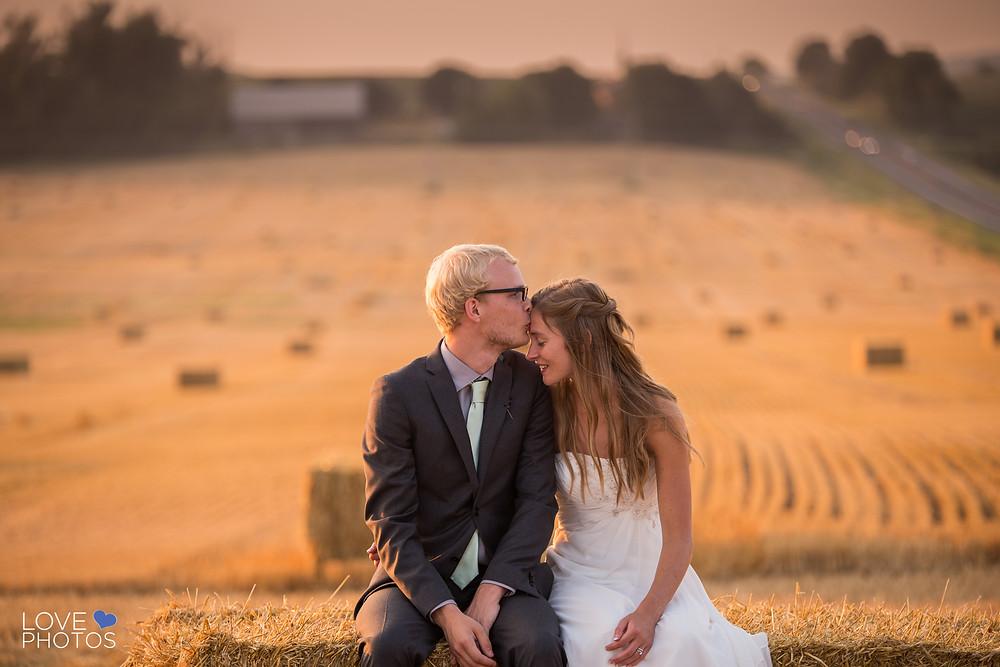 Farm Sunset Wedding