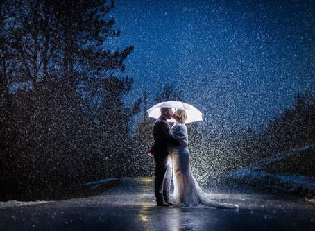 Trillium Trails Oshawa Wedding, Rainy Winter Wedding   High School Sweethearts   Kailee and Kyle