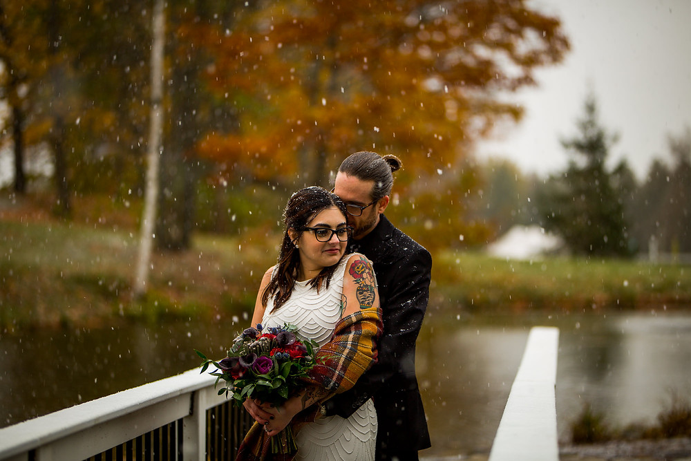 Trillium Trails Winter Wedding