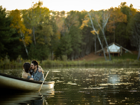 Whispering Springs Fall Engagement Shoot | Katrina & Alex