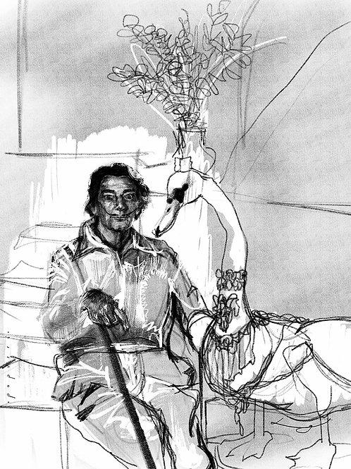 Surrealista Dali