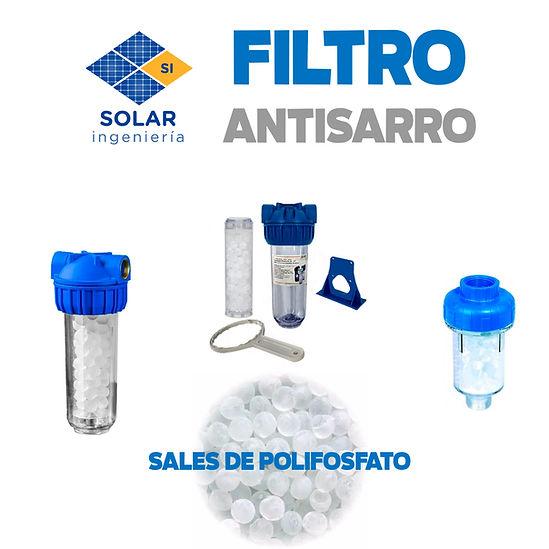 Filtro polifosfato