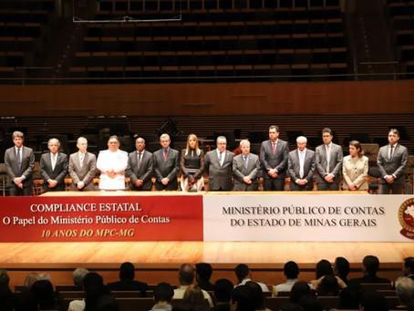 10 anos do MPC/MG Compliance estatal – O papel do Ministério Público de Contas