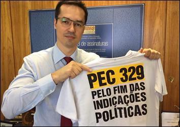 Deltan Dallagnol quer reforma da Constituição para barrar ex-políticos em tribunais de contas